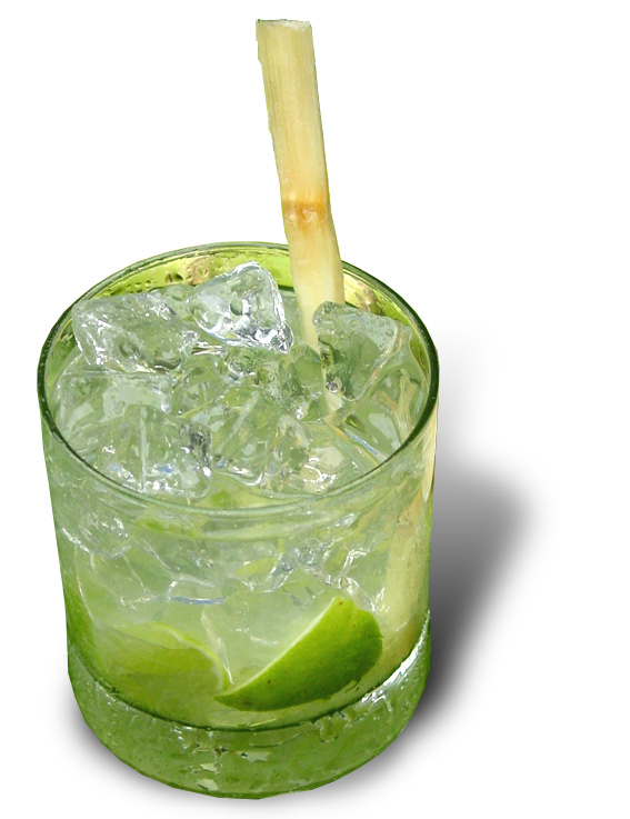 ... Caipirinha, but the traditional Brazilian cocktail is really really
